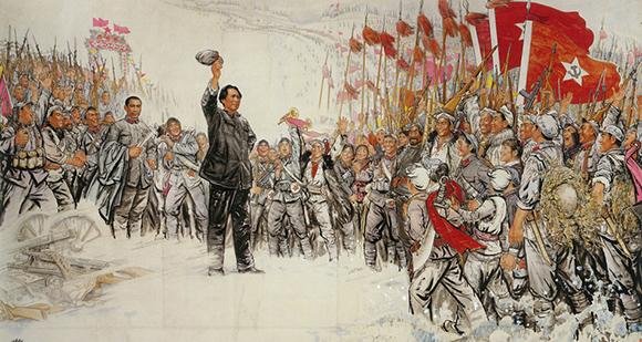 著名画家刘文西作品欣赏